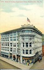 Photo 1909 Wheeling, West Virginia.  View - Stone & Thomas Department Store