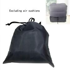 Inflatable Travel Footrest Leg Foot Rest Car Seat Pillow Portable Storage bag