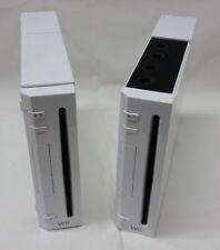 LOT of 2 Nintendo Wii Consoles – PARTS/REPAIR ONLY/BROKEN/Not Working