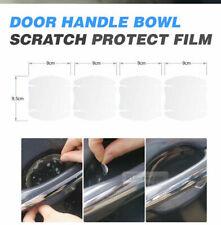 Door Handle Cup Anti Scratch Clear Paint Protector Film 4p For Dodge Dakota