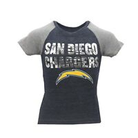 San Diego Chargers Official NFL Apparel Kids Youth Girls Size T-Shirt New Tags