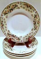 Salad Bowls, Soup Bowls, Cereal Bowls, Farberware Elegance, Set of 4 Rim Bowls