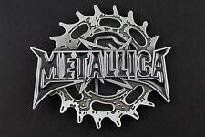 Metallica Cintura Fibbia AMERICANA HEAVY METAL Snap On