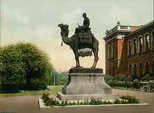 Chatham. New Brompton. The Gordon Memorial.  vintage photochrom from Photochrom