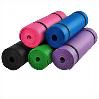 10mm Non-Slip Yoga Mat Indoor and Outdoor Balance Exercise Fitness Yoga Pilates