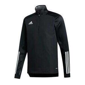 Adidas Condivo 20 Warm Youth Training Top Quarter Zip Kids Soccer Top NEW