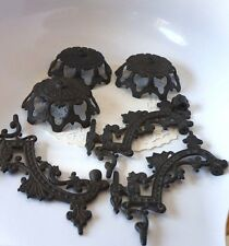 MIXED LOT OF IRON ART: POSSIBLY WALL SCONCES