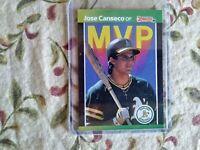 1989 Donruss Jose Canseco MVP Card#bc-5