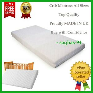 SWINGING CRIB MATTRESS / GLIDER SAFETY QUILTED MATTRESS WATERPROOF PRAM MATTRESS