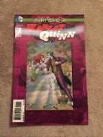 FUTURES END HARLEY QUINN #1 3D LENTICULAR JOKER COVER [DC Comics, 2014]