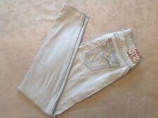 """TRUE RELIGION Jeggings Jeans """"Misty"""" Super Skinny Tamaño W28 L30"""
