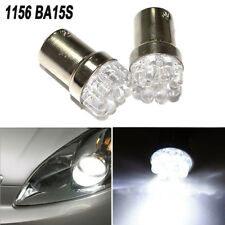 2x Lamp Signal SMD Car Auto White 1156 BA15S 9 12V LED Turn Backup Light Bulbs