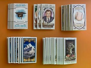 2021 Allen & Ginter Mini Inserts Hats Leaders Mascots Largest Good For You Pick