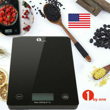 1x Digital Kitchen Scale Food Diet Weighing Scale Measuring Gram Accurate 5KG US