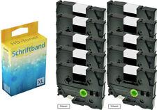 10x Farbband für Brother P-Touch 1000 1010 1080 1090 1230 PC1250 1280 TZ-231 ttp