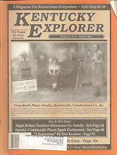 KENTUCKY EXPLORER MAGAZINE VOLUME 25, NUMBER 5, OCTOBER 2010 - NIGHT RIDERS