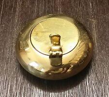 Gold ReiseAschenbecher Taschen Aschenbecher Messing Ashtray NEU Schönes Geschenk