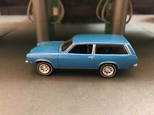 1972 Chevrolet Vega Wagon Blue 1/64 COLLECTIBLE DIORAMA DIECAST MODEL CAR