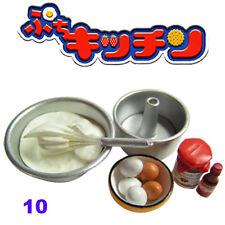 Rare! Re-ment Miniature Homemade Dessert & Cake Kitchen No.10 Eggnog Cake