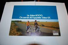 CATALOGUE BROCHURE LE SOLEX 6000 ON AURAIT DU L'APPELER SOLEX GT