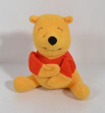 "1998 Pooh Bear 5"" McDonald's EUROPE Plush Action Figure Disney Winnie The Pooh"