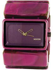 Nixon Women's Vega A726643 Purple Plastic Quartz Fashion Watch