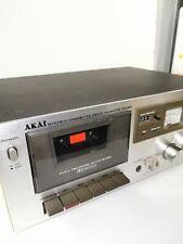 VINTAGE AKAI Stereo Cassette Deck CS-703D Testé Bon état