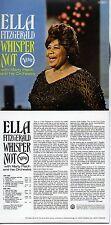 CD Ella FITZGERALDWhisper Not | Mini LP REPLICA CARD SLEEVE | 12-TRACKCD