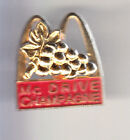 RARE PINS PIN'S .. MC DONALD'S RESTAURANT DRIVE VIN WINE CHAMPAGNE OR 3D 51 ~15