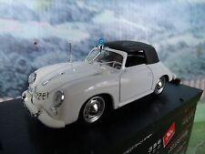 1/43 Brumm (Italy)  Porsche 356 Police 1952 #198