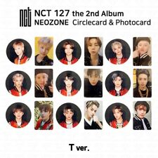 NCT127 2nd Album NCT #127 NEO ZONE Official Photocard Circle card T Ver KPOP