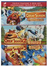 Open Season (2006) / Open Season 2 / Open Season 3 - Set Bilingual (DVD)*NEW*