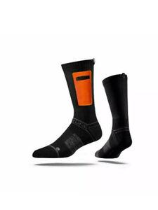 Strideline Premium Utility Hunting Knife Socks $25 Black with Orange Pocket