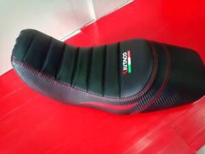 BLACK STANDARD 2013 2014 2015 HONDA Grom MSX 125 Gripper SEAT COVER WHITE