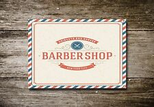 Barber Shop Sign, Metal Sign, Barber Shop Signs, Vintage Style, Barber Shop, 717