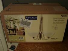Progress Lighting Rave Collection Chandelier P4641-09Di Brushed Nickel Brand New