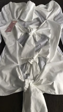 BNWT FINNERY White Shirt Comme Des Garcons Style Size 10**REDUCED**