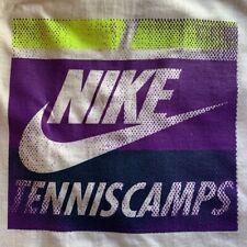 Brand New Nike Tennis Camp T-Shirt Unisex Regular Fit Size Large White