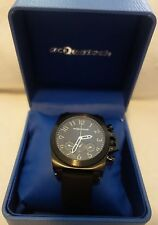 ACQUATECH incursore AUTOMATIC MENS black RUBBER BAND DAY -DATE WATCH new