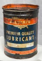 Vintage Allstate Premium Quality Lubricant Cann Advertising Packaging jds