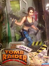 "Tomb Raider Lara Croft in Area 51 Outfit  - 10"" Action Figure - NEW/UNOPENED"