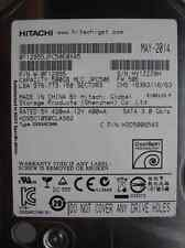 500 GB HITACHI HDS5C1050CLA382 MAY-14 MLC: JPC50E  P/N: 0F12955 | disco rigido