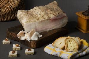 LARDO DEL BOCCACCIO KG.1 CIRCA (TUSCAN SEASONED PORK FAT) FIRENZE-TOSCANA