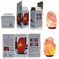 Air Ionizer Himalayan Rock Salt Lamp 1 to 2 Kg Plug & Bulb Included Home Decore