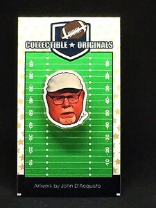 Tampa Bay Buccaneers Bruce Arians lapel pin-Classic Collectible-It's Tompa Time!