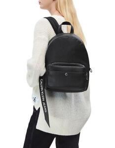 BNWT RRP$249 CALVIN KLEIN BANNER Backpack Shoulder Bag Black
