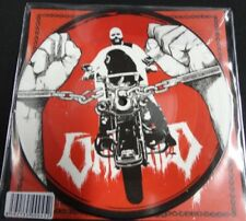 """NUNSLAUGHTER / UNBURIED - 7"""" SPLIT PICTURE EP"""