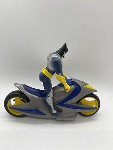Vintage RARE Batman Batcycle Batmobile Action Figure Set - Kenner DC Comics 1998
