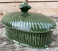 Paté Blanchard Terrine Boucherie Charcuterie Ancien Porcelaine Cuisine