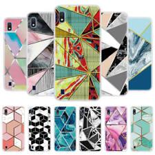 Samsung A20E A70 A10 A40 A50 Printed Art Soft Silicone TPU Case Slim Phone Cover